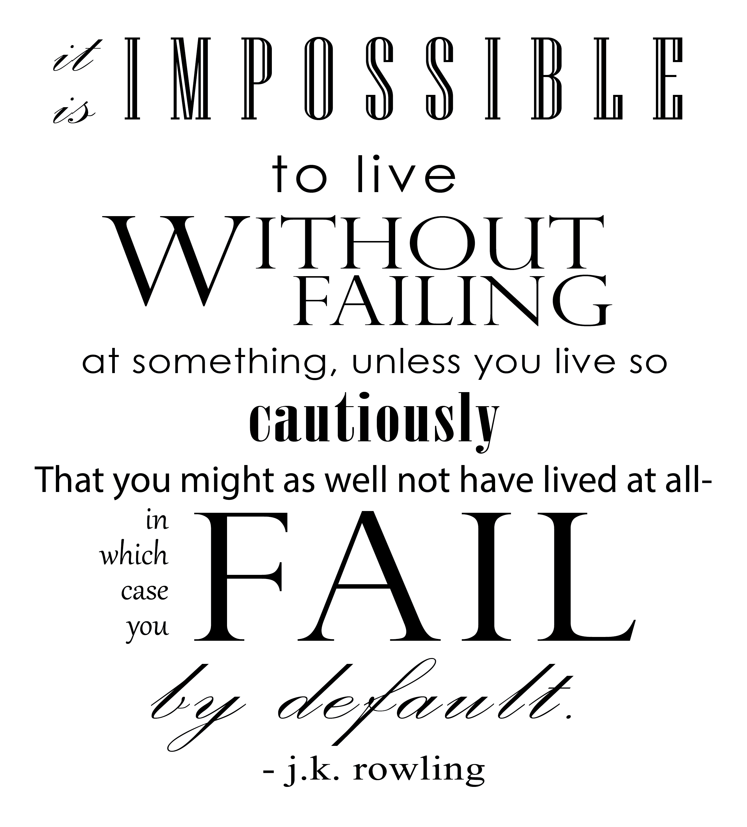 Fear of Failure from whirlwhim.com